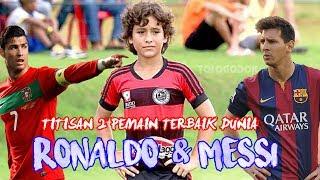 Download Video Heboh!!! Bocah 12 Tahun Punya Skill Mirip Lionel Messi dan Ronaldo MP3 3GP MP4