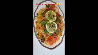 Special | Chicken Biryani | layered rice