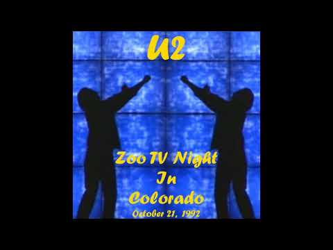 U2 - ZOO TV - ZooTV Night In Colorado (1992/10/21)