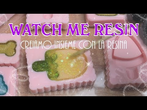 Watch Me Resin #1 - Time Lapse Resin 💖 SHAKER 💖 | Sissy's Creations