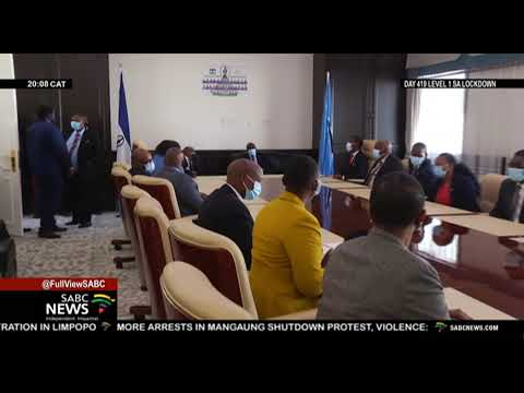 Botswana's President on a working visit in Lesotho