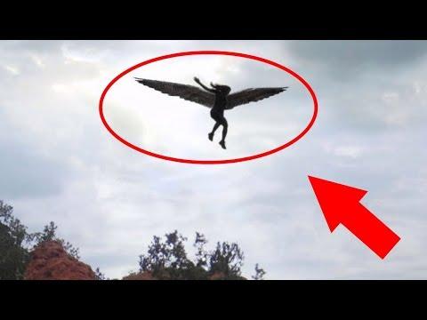 10 echter Engel auf gefangene Kamera