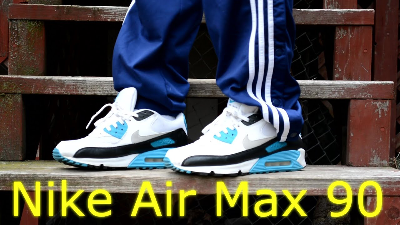 the latest 7c158 30011 Nike Air max 90 OG Laser Blue   Sail Grey