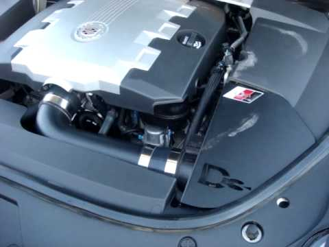 D3 Air intake CTS 3.6 - YouTube