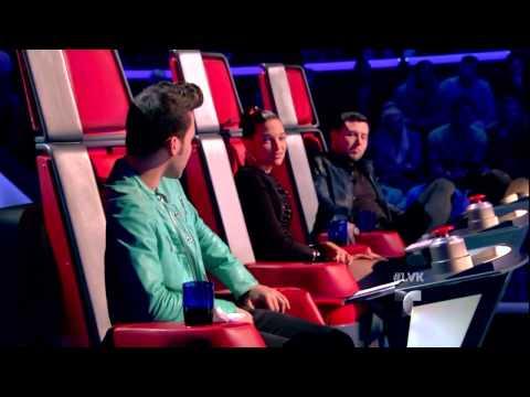 "Marangelys Vicens canta ""Mientes"" en La Voz Kids"