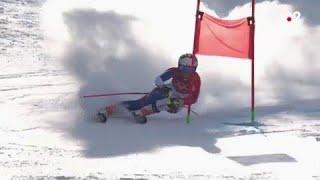 JO 2018 : Ski alpin - Géant Femmes. Tessa Worley en difficulté pour son entrée en lice