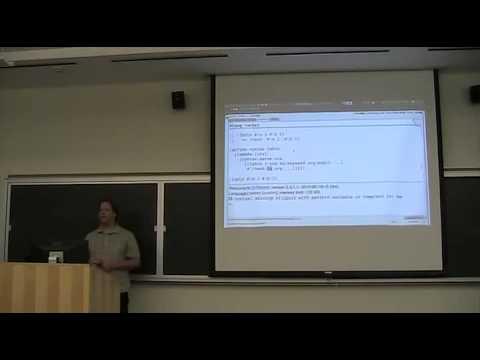 Racketcon 2012: Ryan Culpepper - Better Syntax Templates for syntax-parse