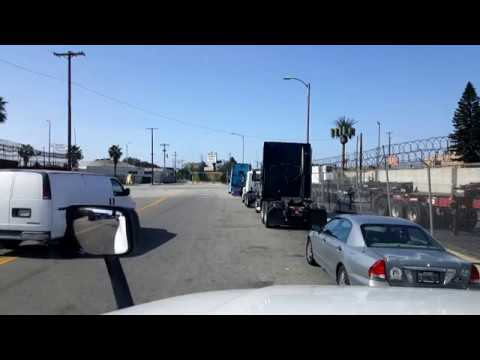 BigRigTravels LIVE! Wilmington to Ontario to Perris, California-April 8, 2018
