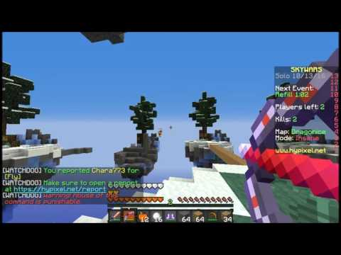 Solo Skywars #19 [Chara773]