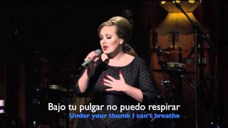 Turning Tables Adele Subtitulada