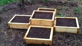 Family Farmer Raised Bed Herb Garden