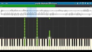 """King of Kings"" Triple H 2013 WWE Theme on Piano - Synthesia"