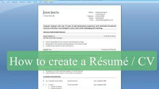 How can you make best resume.