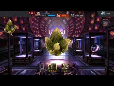 Cristal 4* n°30 + Cristaux abominables (Roi Groot + Angela)