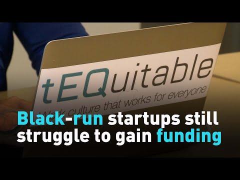 Black-run startups still struggle to gain funding