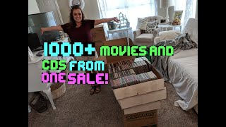 HUGE Blu Ray, DVD Series, & CD Score from 1 sale. Over 1000 items! S2E20