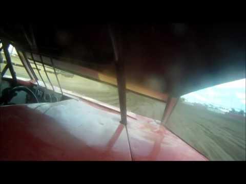 6 10 16 Casper Speedway mod 4 heat 1 in car