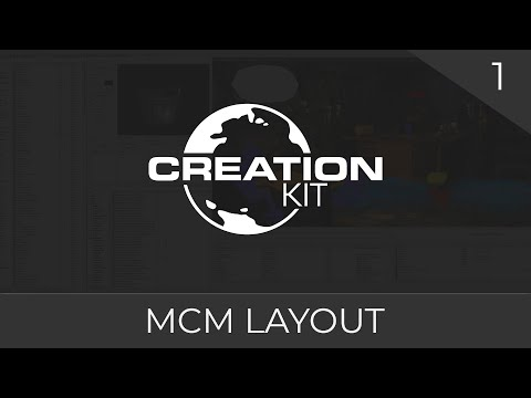 Creation Kit Tutorial (Creating an MCM Layout) #1