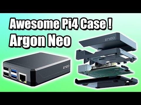 Argon Neo Review & Test Awesome Raspberry Pi 4 Case