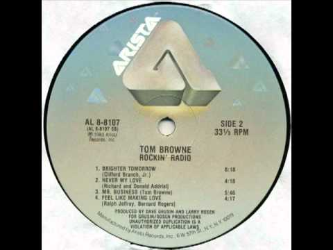 tom BROWNE 1983 brighter tomorrow