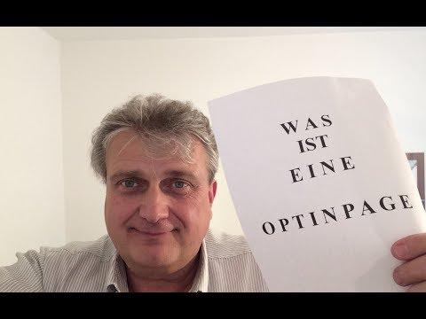 WAS IST EINE OPTINPAGE?   ONLINEMARKETING!