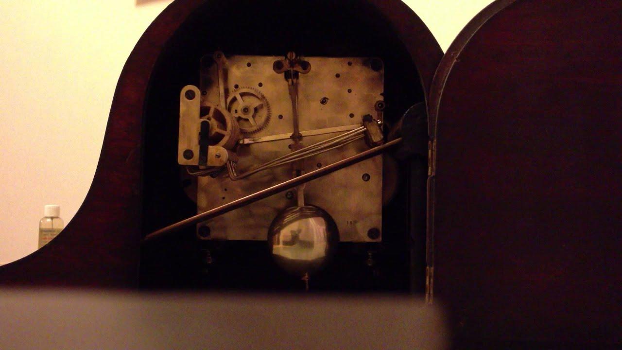 Rare urgos dual chime german whittington westminster mantle rare urgos dual chime german whittington westminster mantle clock back amipublicfo Choice Image