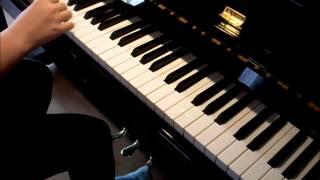 Dieser Weg/on piano