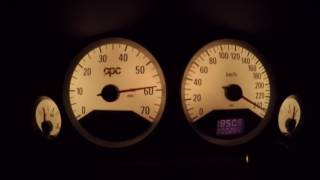 Opel Astra G OPC 2.0 Turbo Stage 5, 90-260km/h