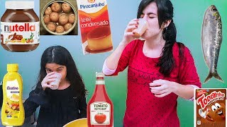 Desafio Bebendo Mistureba - Yasmin Verissimo [smoothie challenge]