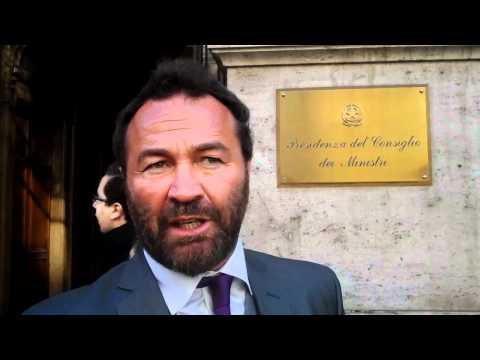 SINDACO DI CAPALBIO LUIGI BELLUMORI PRESSO PRESIDENZA CONSIGLIO DEI MINISTRI