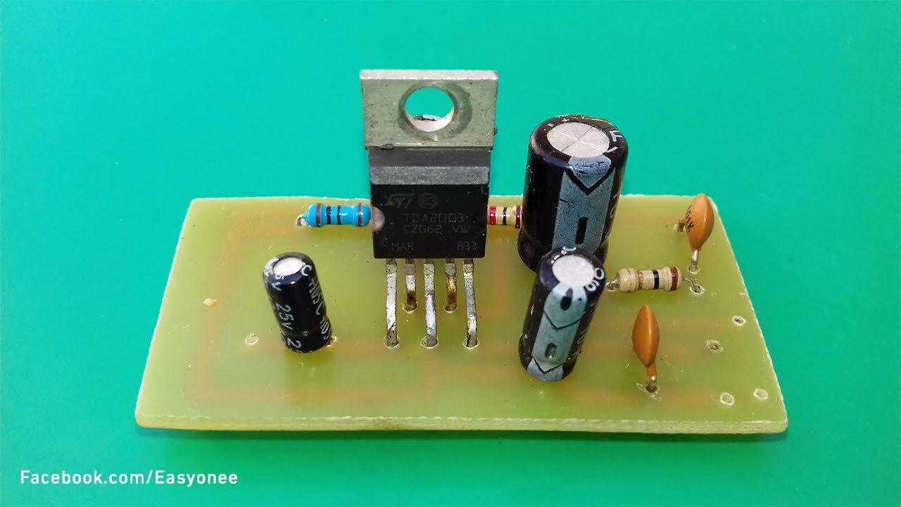 Tda2003 Amplifier