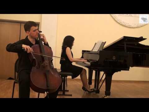 Иоганнес Брамс - Соната для виолончели и фортепиано № 1 ми минор