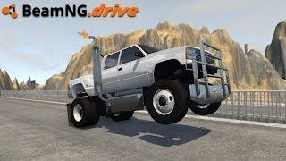 vuclip BeamNG.drive - MONSTER TRUCK WHEELIE