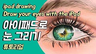 눈그리기 튜토리얼/눈그림 그리기/사실적인 눈 그리기/설…