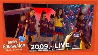 Luara Hayrapetyan - Barcelona - Armenia - 2009 Junior Eurovision Song Contest
