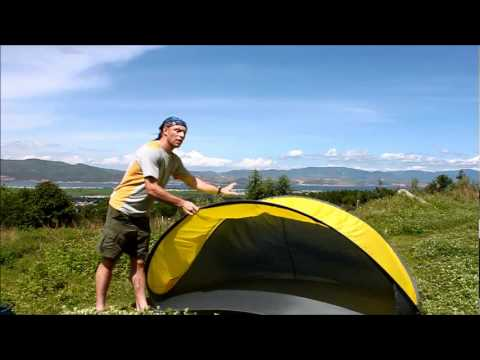 Popup Beach Canopy Tent From Lazytrek Youtube