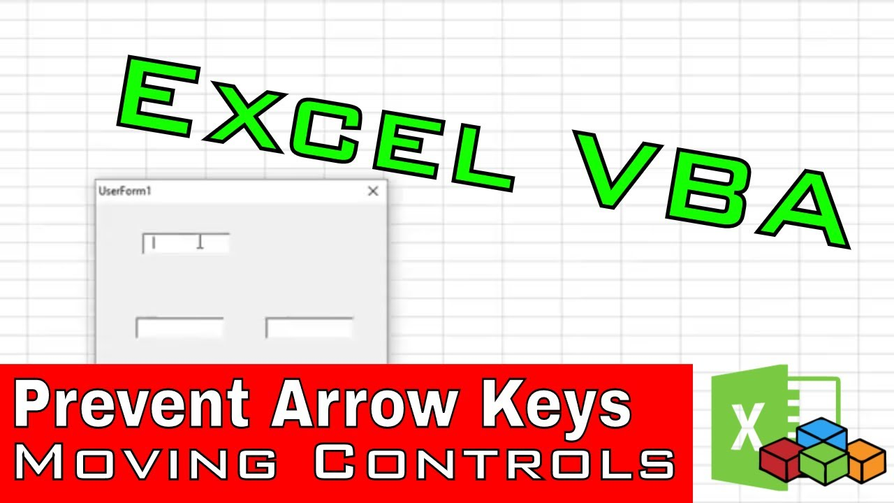 Prevent Arrow Keys From Moving To Other Textbox in Excel VBA