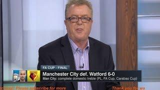 ESPN FC   Man City vs Watford 6-0 Post Match Analysis HD & Raheem Sterling HATTRICK   FA CUP 2019