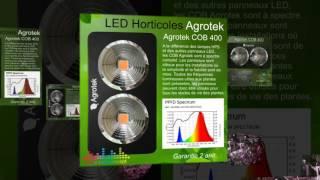 Systèmes LED Horticoles - Gamme AGROTEK COB V.2016