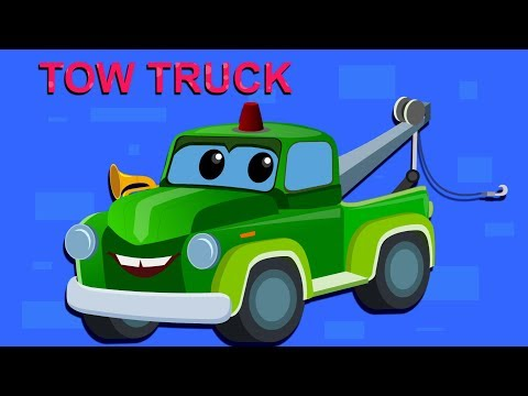 Zeek And Friends  Tow Truck Song  Car Song And Rhymes  cartoon about cars for kids