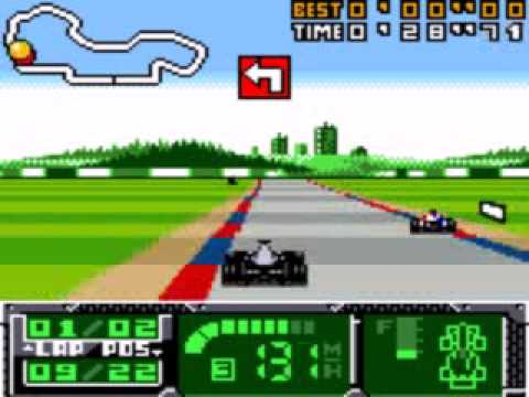 game boy color f1 world grand prix ii for game boy color color youtube