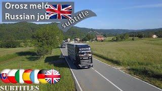 Hunland -A kamionos egy napja- orosz meló