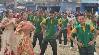 Poi paryo kale ..dance by satyawati students