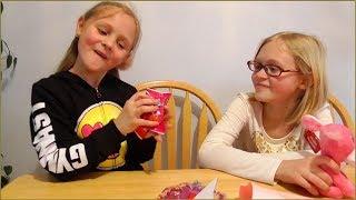 Наш Валентинов ДЕНЬ Что дети принесли со школы в День Святого Валентина в Америке