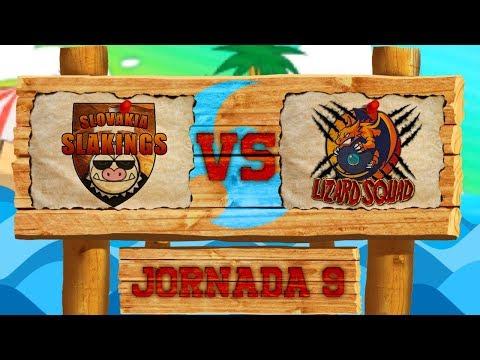 LCE Liga Luna - J9 | Slovakia Slakings VS Lizard Squad