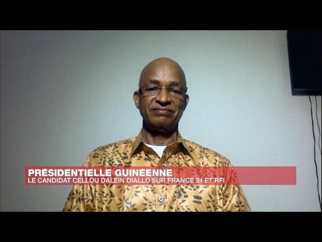 """Cellou Dalein Diallo : """"À son âge, Alpha Condé n'est plus apte à diriger la Guinée, il est fatigué"""""""