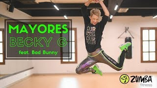 MAYORES- Becky G feat Bad Bunny - Zumba® Dance Fitness by Celina Neilson