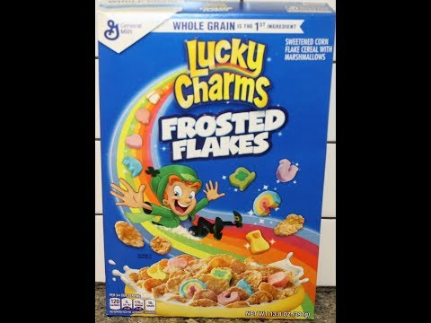 Lucky Charms Frosted Flakes Cereal Review