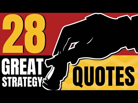 28 Great Strategy ♞Quotes ❞