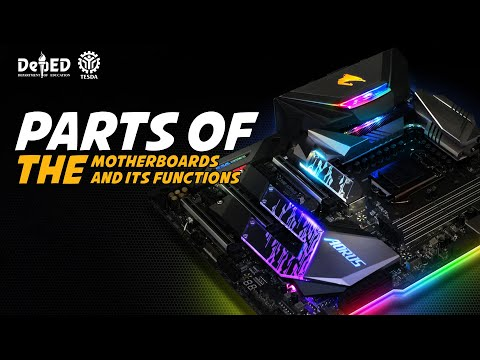 Parts of the Motherboards and its Functions (HD)